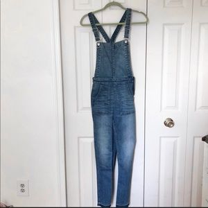 Madewell Skinny Overalls Size Small